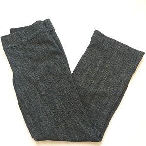 LOFT Marisa Trouser Black/ White Speckles Tweed